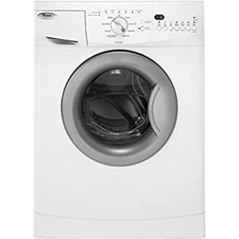 """Whirlpool WFC7500VW White 24"""" Front Load Compact Washer"""