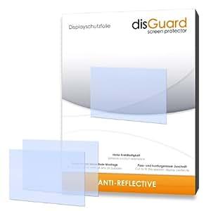 3 x disGuard Anti-Reflective Film protecteur d'écran pour Sony Cybershot DSC-RX100M2 / RX-100 II - Qualité supérieure (revêtement dur adhésif, antiréflexion, montage sans bulles)