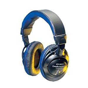 Audio-Technica ATHM40FS Precision Studio Headphones
