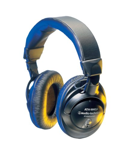 Audio-Technica ATH-M40FS Professional Studio Monitor Precision Headphones