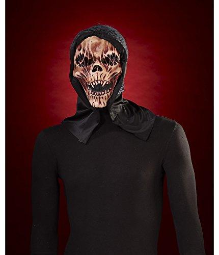 Skull Mask with Hood - 1