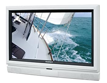 32 in. in. Outdoor LCD TV in White from SunBriteTV