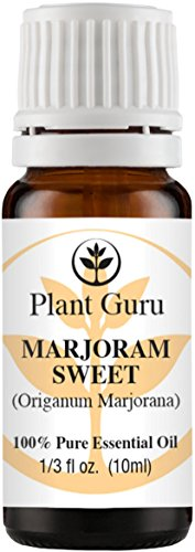 Marjoram Sweet Essential Oil. 10 ml. 100% Pure, Undiluted, Therapeutic Grade.