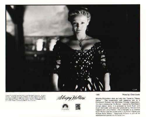 Sleepy Hollow - Miranda Richardson - Movie Poster Print - 8 x 10