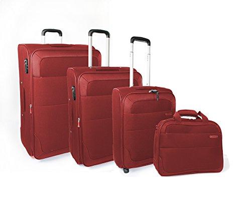 roncato-set-de-bagage-rouge-rouge-42401909