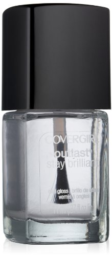 COVERGIRL Outlast Stay Brilliant Nail Gloss, Crystal Clear .37 fl oz (11 ml)