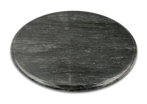 Fox Run Brands Black Marble Lazy Susan, 12-Inch Diameter
