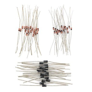 Commoon Diy Diode For Rectification / Detecting / Voltage-Stabilizing / Modulator Circuit (60 Pcs)