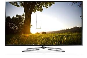 """Samsung UE55F6400 TV LCD 55"""" (138 cm) LED HD TV 1080p 3D Smart TV avec Wi-Fi intégré 2 paires de lunettes 3D 200 Hz 4 HDMI 3 USB Gris fumé Classe: A (Import Belgique)"""