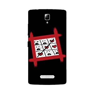 Digi Fashion Designer Back Cover with direct 3D sublimation printing for Lenovo A2010