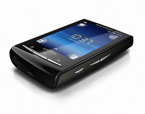 Sony Ericsson XPERIA X10 mini (ブラック) 海外携帯 (国内使用可能)