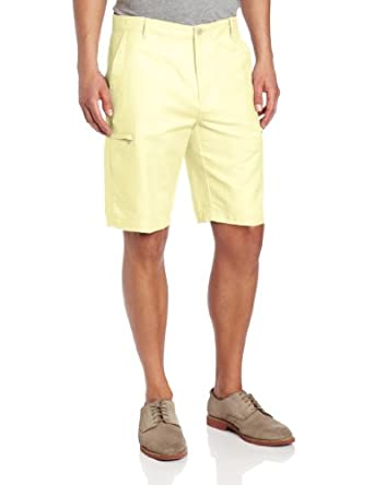 Clean Cargo Short, Pastel Yellow, 32 at Amazon Men's Clothing store