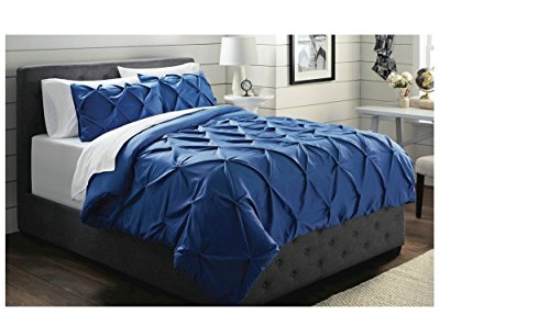 Threshold Pinched Pleat Comforter 3 Piece Set -(Full/Queen size) (Target Queen Comforter Set compare prices)