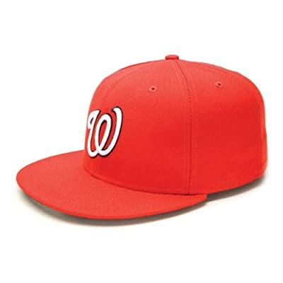 New Era 59FIFTY Washington Nationals Team Game Baseball Hat Red