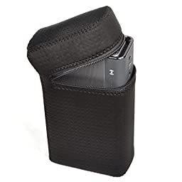Pashion Durable Water-Resistant Lycra Zipper Lightweight & Slim Fit Design Carrying Case Bag Sleeve for Creative SoundBlaster ROAR Bluetooth Speaker SR20A