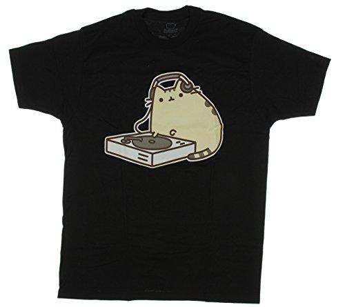 HXHSA Pusheen Men's Dj T-Shirt