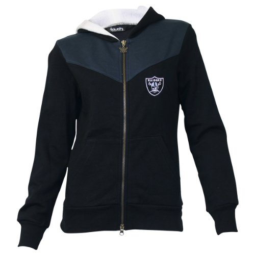 Oakland Raiders Touch by Alyssa Milano Full Zip Hooded Jacket (XS) at Amazon.com