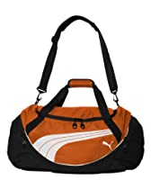 PUMA Men's Teamsport Formation 24 Inch Duffel Bag, Orange, One Size