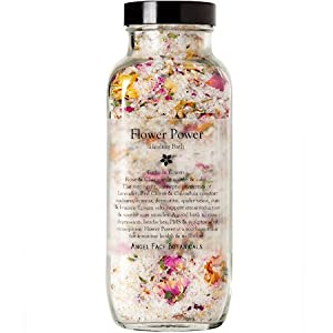 Flower Power Healing Bath Salts & Flowers - Organic from Angel Face Botanicals