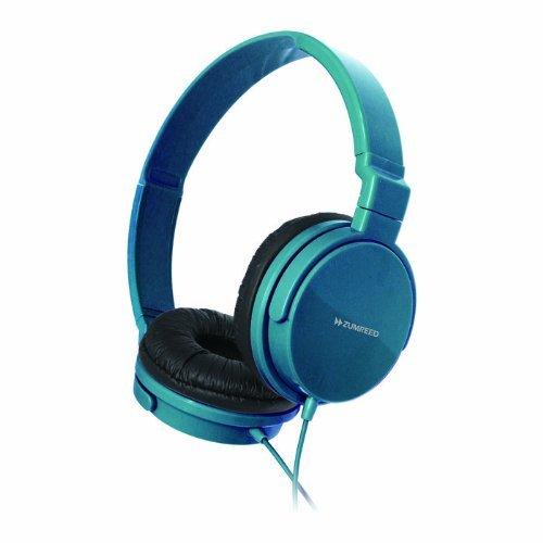 Zumreed Zum-80383 Metro Smart Stylish And Colorful Over The Ear Headphones, Teal
