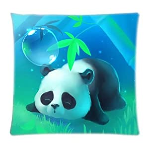 UK-Jewelry Cute Fresh Style Sleeping Baby Panda Wallpaper Custom Throw Cool Cool Case Diy Product Pillowcase 18x18 Inch by UK-Jewelry