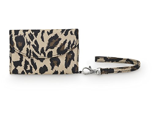 All For Color Classic Leopard Smart Phone Wristlet - 1