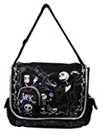 Jack Skellington Messenger Bag - Disney Laptop Bag from Ruz
