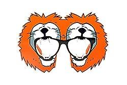 Funcart Orange Lion Sunglasses