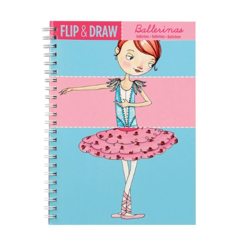 Mudpuppy Ballerinas Flip and Draw