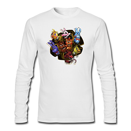 Five Nights At Freddy's Survivor For Boys Girls Long Sleeves Outlet