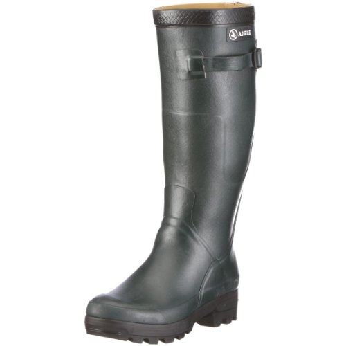 Aigle Unisex Benyl M Green Wellingtons Boots 85788 42 EU/8 UK