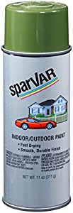 SparVar S220 Avocado Automotive and General Purpose Paint - 11 oz.