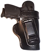Ruger P95 Heavy Duty Black Right Hand Inside The Waistband Concealed Carry Gun Holster With Forward Cant and Slide Guard Bodyshield