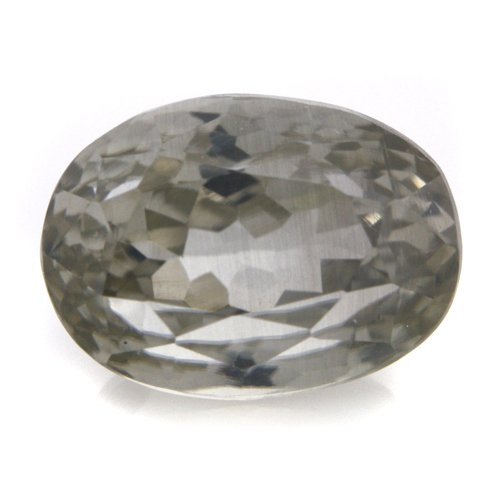 Natural Light Green Sillimanite Loose Gemstone Oval Cut 10*7mm 3.85cts SI Grade