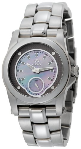 REACTOR Womens 96017 Helium Latte Pearl Dial Stainless Steel Sport Watch