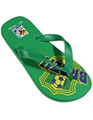 Private Label - Mens FIFA Flip Flop, Green 25034