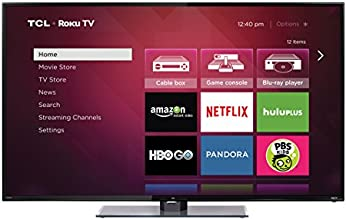 TCL 55FS3700 55-Inch 1080p Roku Smart LED TV (2015 Model)
