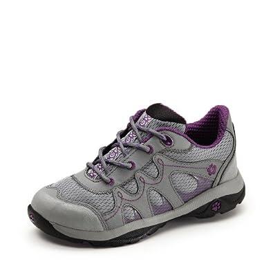 Jack Wolfskin  GIRLS MOUNTAIN RUNWAY, Chaussures de randonnée fille purple glow 31
