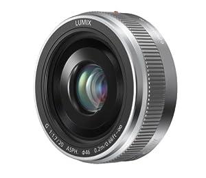 Panasonic Lumix G H-H020AS 20mm F/1.7 II ASPH Lens for Panasonic/Olympus Micro Four Thirds Cameras (Silver)
