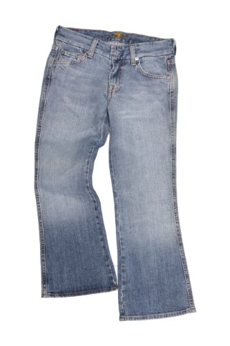 7 for all mankind 3/4 Jeans POCKET, Color: Blue, Size: 24