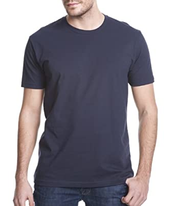 Next Level Apparel 3600 Mens Premium Fitted Short-Sleeve Crew T-Shirt, Midnight Navy, Extra Small