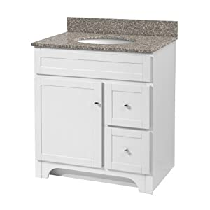 foremost wrwa3021d worthington 30 inch white bathroom