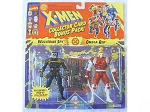 Marvel Comics X-Men 1994 Wolverine Spy vs Omega Red with Four Collector Bonus Cards Multi-Pack