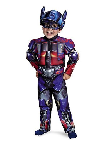 Optimus Toddler Muscle Costume