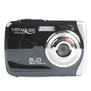 VISTAQUEST VQ8920 SPORT Wasserdichte Digitalkamera 5 MP 6,1 cm (2.4') schwarz