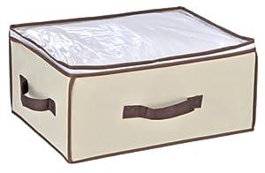 aufbewahrungsbox kleideraufbewahrung aufbewahrung beige. Black Bedroom Furniture Sets. Home Design Ideas
