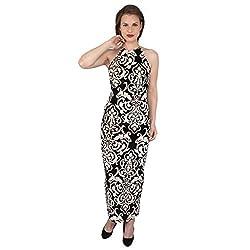 Tenn Women's Maxi Dress (BKVG11NSXS_Small_Multi)