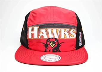 Atlanta Hawks Mitchell & Ness 5 Panel HWC Camper Clipback Hat by Mitchell & Ness