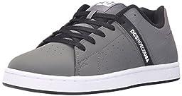 DC Men\'s Wage 2 SE Skate Shoe, Grey/Black, 7 M US