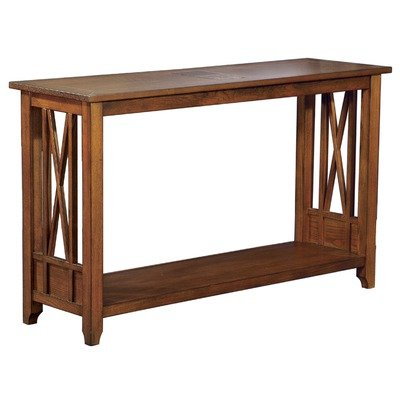Cheap Console Table in Cognac (OCST476)